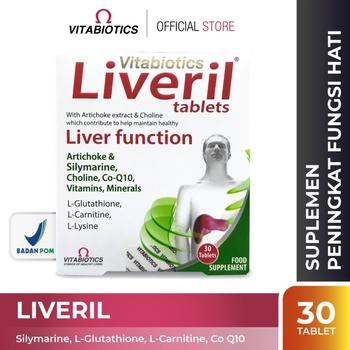 Vitabiotics Liveril Tablet  harga terbaik 354500