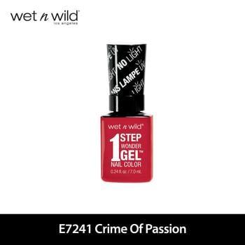 Wet N Wild 1 Step Wonder Gel Nail Color E7241 Crime Of Passion harga terbaik 129000