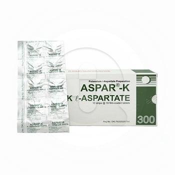 Aspar-K tablet adalah obat untuk mengatasi kekurangan kadar kalium dalam tubuh atau hipokalemia