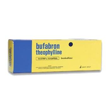 Bufabron kapsul adalah obat untuk mengatasi peradangan pada saluran napas dan asma