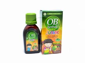 OB Herbal Junior Sirup 60 mL harga terbaik 11339