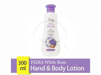 FEIRA White Rose Hand & Body Lotion 300 mL harga terbaik 37300