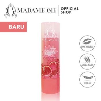 Madame Gie Color Pop Lip Balm Pomegranate harga terbaik 8000