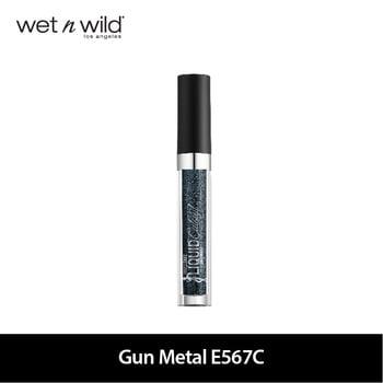 Wet N Wild Megalast Liquid Catsuit Metallic Eyeshadow-Gun Metal harga terbaik 149000