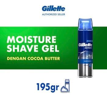 Gillette Shaving Gel Shave Moisture 195 g harga terbaik 69900
