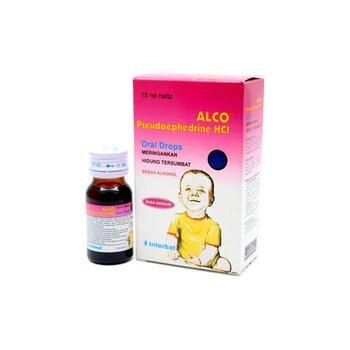Alco drops adalah obat untuk membantu mengatasi gejala pilek seperti bersin dan hidung tersumbat