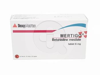 Mertigo Tablet 6 mg  harga terbaik
