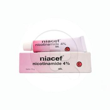 Niacef digunakan untuk mengobati jerawat