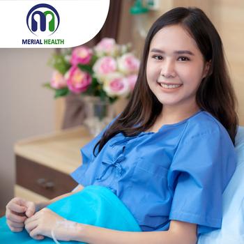 Infus Multivitamin di Klinik Merial Health, Jakarta Timur