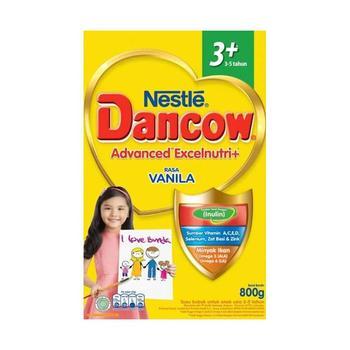 Dancow 3+ Excelnutri+ Usia 3-5 Tahun Rasa Vanilla 400 g harga terbaik