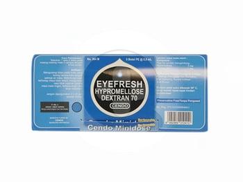 Cendo Eyefresh minidose adalah obat untuk mengurangi iritasi pada mata yang kering