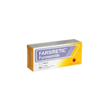 Farsiretic tablet adalah obat untuk mengatasi pembengkakan akibat penumpukan cairan pada tubuh