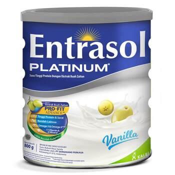 Entrasol Platinum Vanilla 800 g harga terbaik 212000