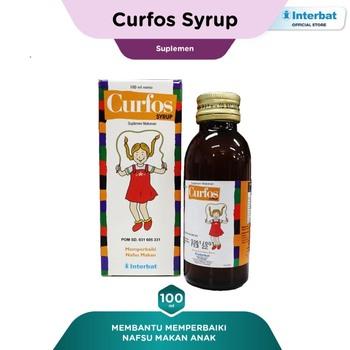 Curfos Sirup 100 mL harga terbaik