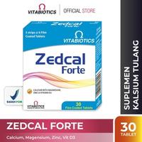 Vitabiotics Zedcal Forte Tablet (30 Tablet)