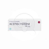 Acetylcysteine Kapsul 200 mg (1 Strip @ 10 Kapsul)