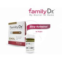 FamilyDr Test Strip Cholesterol (10 Strip)
