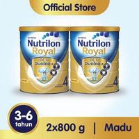Paket 2 - Nutrilon Royal 4 Susu Pertumbuhan 3-6 Tahun Madu 800 g
