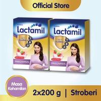 Paket 2 - Lactamil Pregnasis Minuman Ibu Hamil Stroberi 200 g