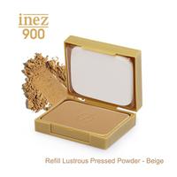Inez 900 Refill Lustrous Pressed Powder - Beige