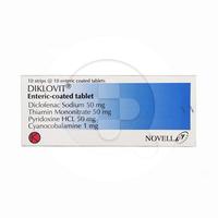Diklovit Tablet (1 Strip @ 10 Tablet)