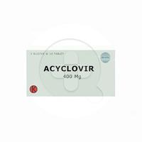 Acyclovir Tablet 400 mg (1 Strip @ 10 Tablet)