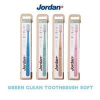 Jordan Toothbrush Green Clean Soft Adult (1 Pack @ 1 Pcs)