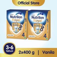 Paket 2 - Nutrilon Royal 4 Susu Pertumbuhan 3-6 Tahun Vanila 400 g