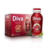 Diva Liquid Mixed Berries 6 x 80 mL