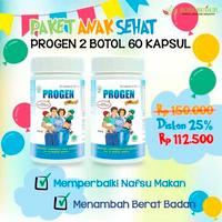 Promo 2 Botol - Borobudur Herbal Progen Kapsul (60 Kapsul)