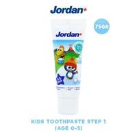 Jordan Kids Toothpaste Step 1 (0-5 Years) 75 g