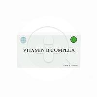 Vitamin B Complex (1 Strip @ 10 Tablet)