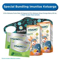 Special Bundling Imunitas Keluarga - Free Scuba Mask SehatQ