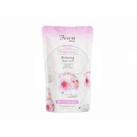 FEIRA White Sakura Shower Cream Refill 450 mL