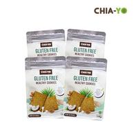 Chia-Yo Bundling 4 Pcs Gluten Free Healthy Cookies