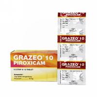 Grazeo Tablet 10 mg (10 Strip @ 10 Kaplet)