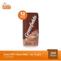 Greenfields Susu UHT Choco Malt 200 ml - 12 Pcs