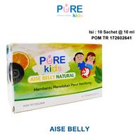 Pure Kids Aise Belly Natural Rasa Orange Mint 10 ml (Box @ 10 Sachet)