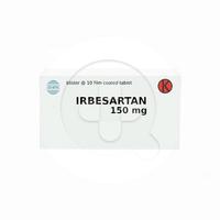 Irbesartan Kaplet 150 mg (1 Strip @ 10 Kaplet)