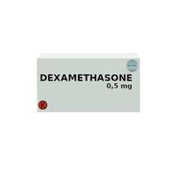 Dexamethasone Tablet 0,5 mg (1 Strip @ 10 Tablet)