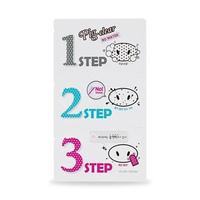 Holika Holika Pig-nose Clear Blackhead 3-Step Kit - No Water