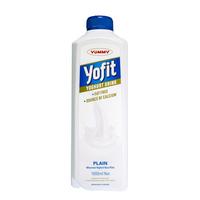 Yummy Yofit Yoghurt Drink Plain 2 x 1 Liter