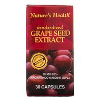 Nature's Health Grape Seed Extract (Botol - 30 Kapsul)