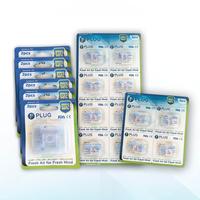 PLUG Nasal Filter Mix L 8 Pack (6 Pack @ 2 Pcs, 1 Pack @ 4 Pcs, & 1 Pack x 8 Pcs)