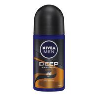 NIVEA MEN Deodorant Deep Espresso Roll On 50 ml