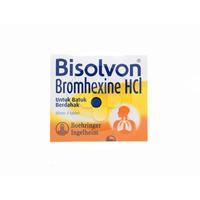 Bisolvon Tablet 8 mg (1 Strip @ 4 Tablet)