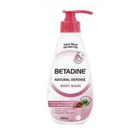 BETADINE Body Wash Antibacterial Pomegranate Bottle 500 mL