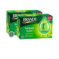Twin Pack Brand's Saripati Ayam Original 70 g (12 Botol)