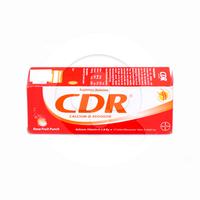 CDR Rasa Fruit Punch Tablet Effervescent (1 Tube @ 10 Tablet)