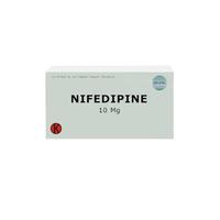 Nifedipine Tablet 10 mg (1 Strip @ 10 Tablet)